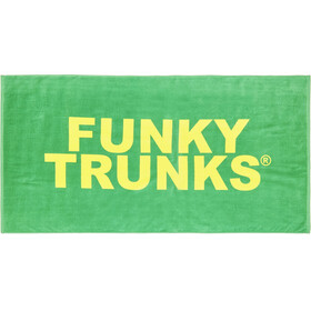 Funky Trunks Towel handdoek Heren groen